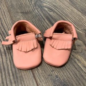 Other - pink baby moccasins